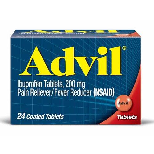 ADVIL PAIN RELIEVER 24 caplets