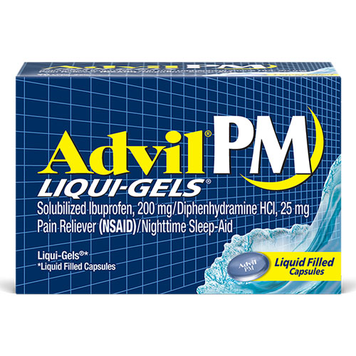 ADVIL PAIN RELIEVER 20capsules