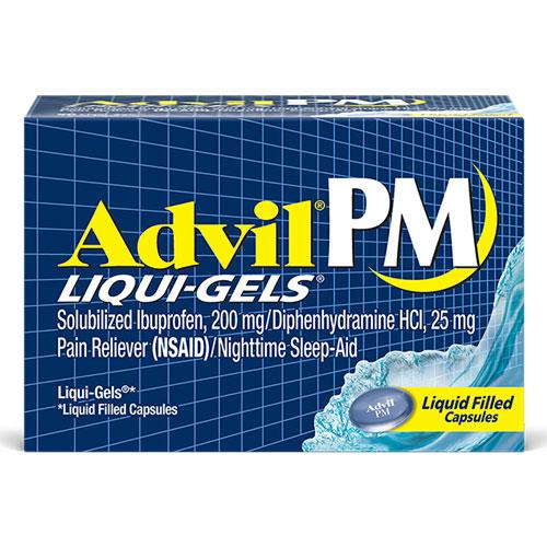 ADVIL PAIN RELIEVER LIQUIDGELS 20capsules