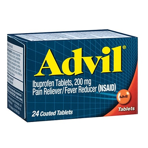 ADVIL PAIN RELIEVER 24tablets