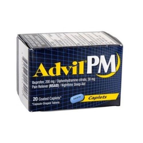 ADVIL PM PAIN RELIEVER 20caplets