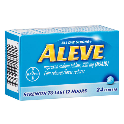 ALEVE PAIN RELIEVER 24tablets