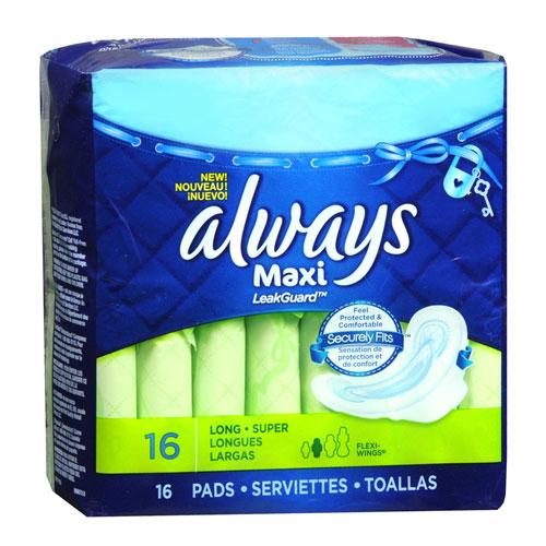 ALWAYS MAXI LONG 16pk