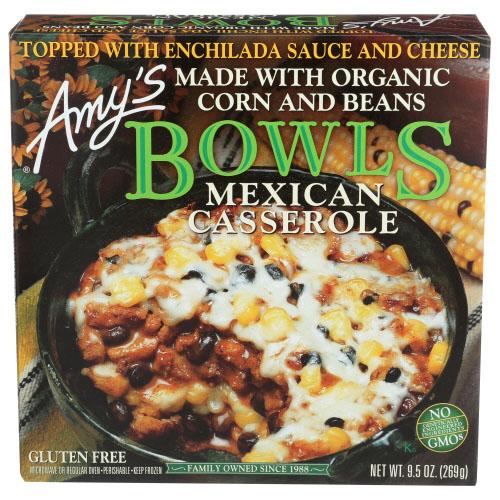 AMY'S BOWLS MEXICAN CASSEROLE 9.5oz.