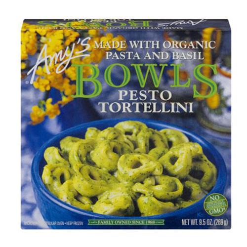 AMY'S BOWLS PESTO TORTELLINI 9.5oz