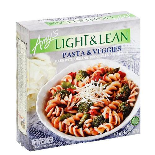 AMY'S LIGHT & LEAN PASTA & VEGGIES 8oz