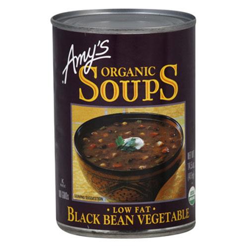 AMY'S ORGANIC SOUPS BLACK BEAN VEGGIE 14.5oz