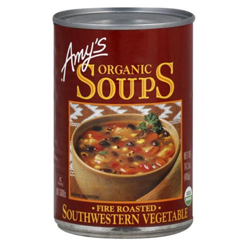 AMY'S ORGANIC SOUPS SOUTHWESTERN VEGGIE 14.3oz