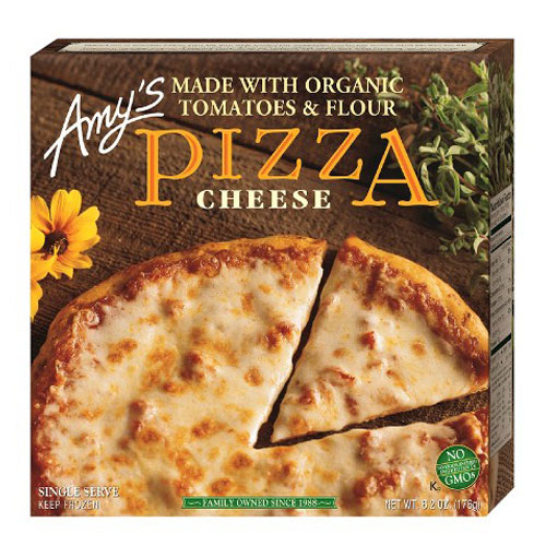 AMY'S PIZZA CHEESE 6.2oz