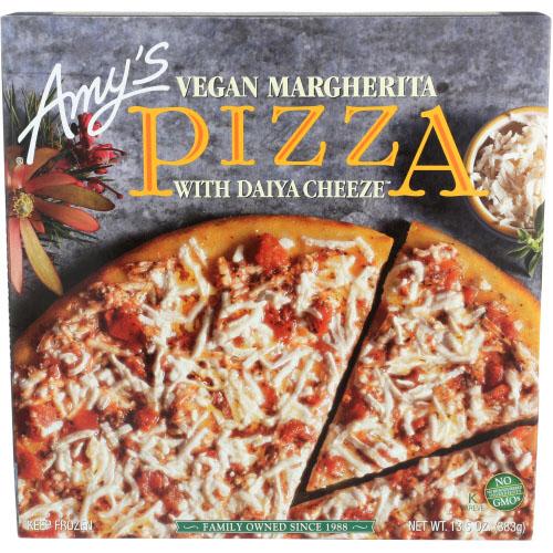 AMY'S PIZZA VEGAN MARGHERITA WITH DAIYA CHEESE 13.5oz