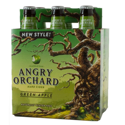 ANGRY ORCHARD GREEN APPLE 6pk 12oz .