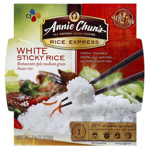 ANNIE CHUNS GLUTEN FREE WHITE STICKY RICE 7.4oz