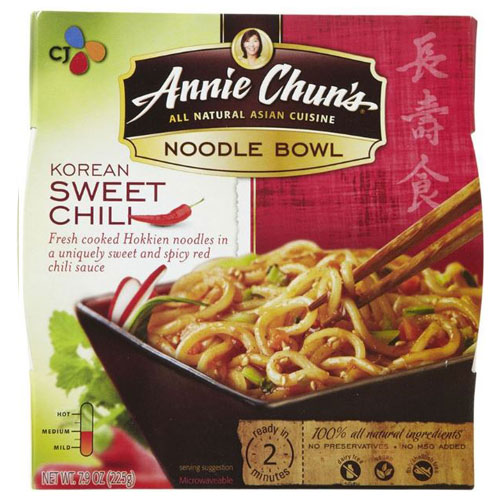 ANNIE CHUNS NODDLE BOWL KOREAN SWEET CHILI 7.9oz