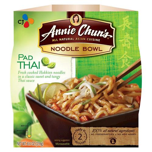 ANNIE CHUNS NOODLE BOWL PAD THAI 8.4oz