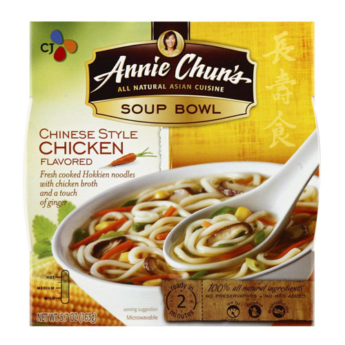 ANNIE CHUNS SOUP BOWL CHINESE STYLE CHICKEN 5.7oz