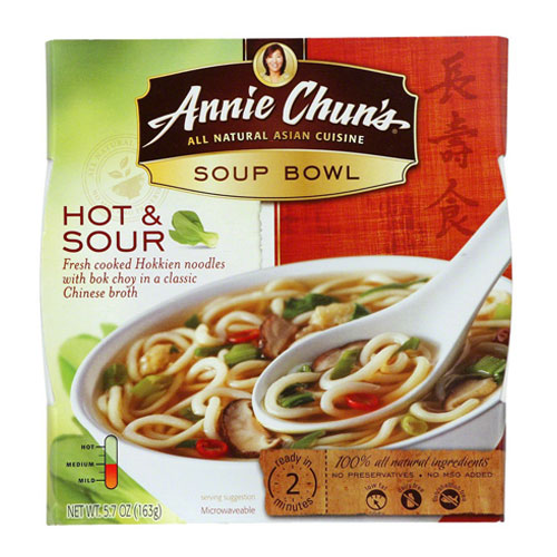 ANNIE CHUNS SOUP BOWL HOT & SOUR 5.7oz