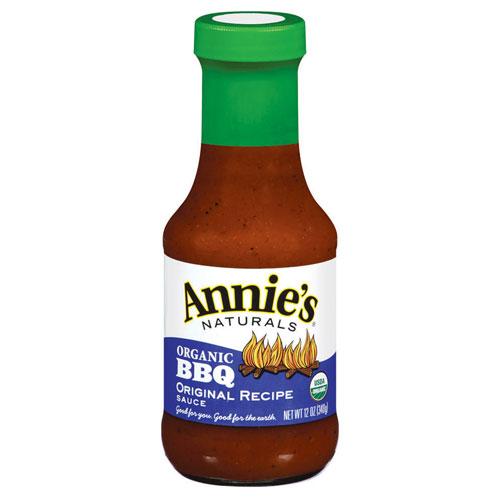 ANNIE'S ORGANIC BBQ SAUCE ORIGINAL 12oz