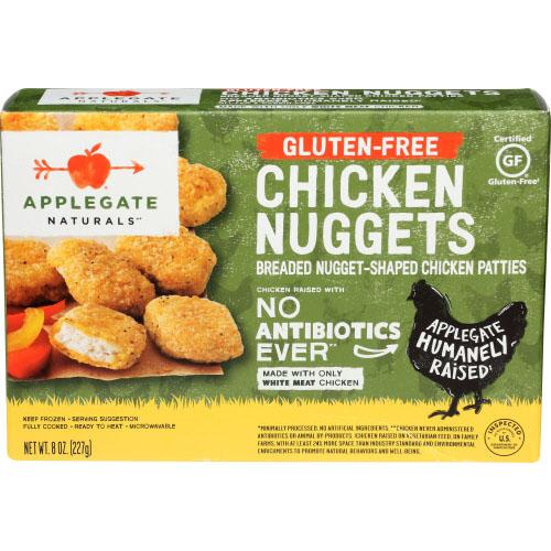 APPLEGATE NATURALS GLUTEN FREE CHICKEN NUGGETS 8oz