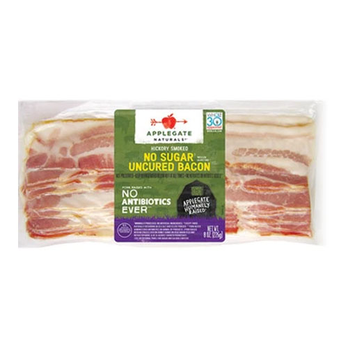 APPLEGATE NATURALS HICKORY SMOKED NO SUGAR SUNDAY BACON 8oz