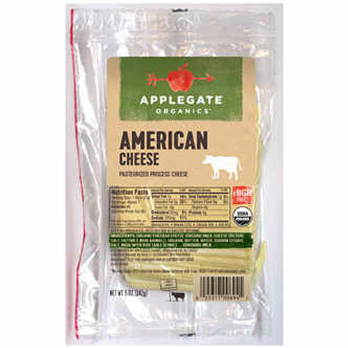 APPLEGATE ORGANIC SLICED PROVOLONE CHEESE 5oz.