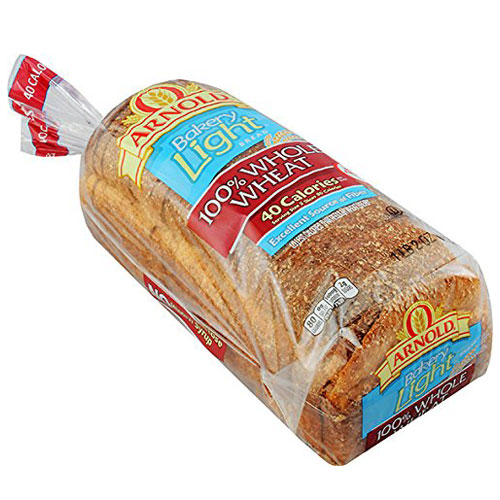 ARNOLD LIGHT WHOLE WHEAT 18oz