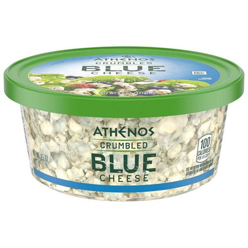 ATHENOS BLUE CHEESE CRUMBLES 4.5oz.