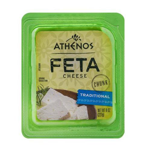 ATHENOS FETA CHEESE CHUNK 8oz.