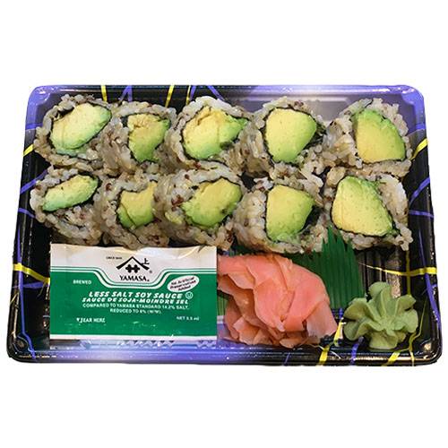 Avocado Roll Quinoa (Brown Rice, Avocado, Seaweed, Vinegar, Sugar, Salt)