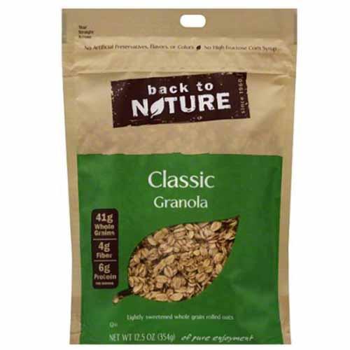 BACK TO NATURE CLASSIC GRANOLA 12.5oz