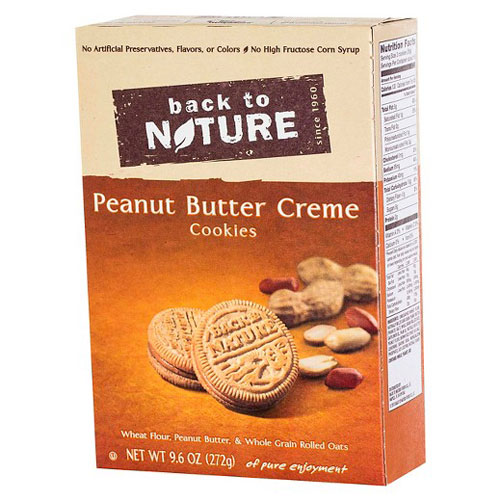 BACK TO NATURE PLANT BASED SNACK COOKIES