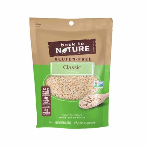 BACK TO NATURE GLUTEN FREE GRANOLA CLASSIC 12.5oz
