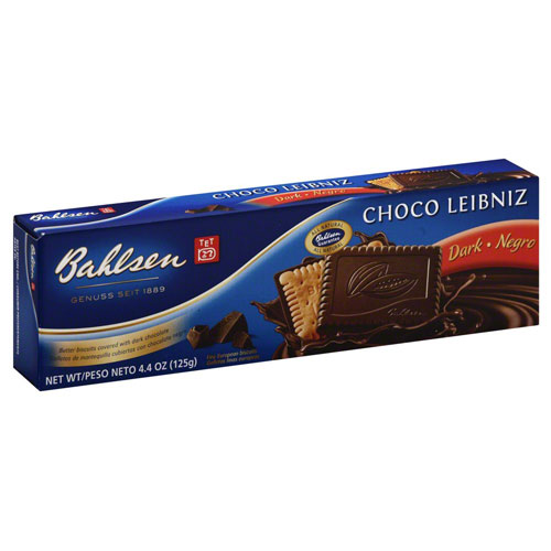 BAHLSEN CHOCOLATE LEIBNIZ DARK 4.4oz