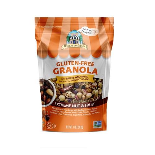 BAKERY ON MAIN GLUTEN FREE GRANOLA EXTREME NUT & FRUIT 11oz