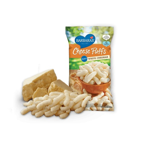BARBARA'S CHEESE PUFF BAKED WHITE CHEDDAR 5.5oz.