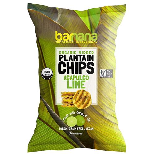 BARNANA ORGANIC PLANTAIN CHIPS ACAPULCO LIME 5oz
