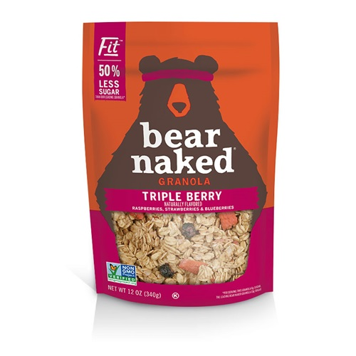BEAR NAKED GRANOLA TRIPLE BERRY 12oz