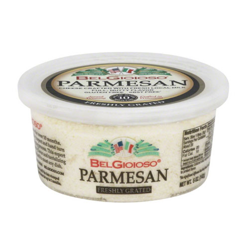 BELGIOIOSO GRATED PARMESAN CHEESE 5oz.