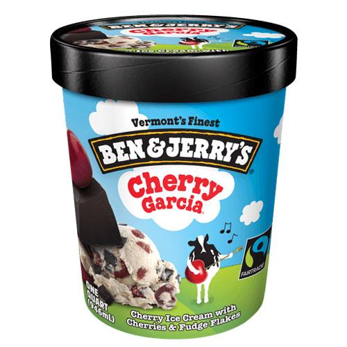BEN JERRYS ICE CREAM CHERRY GARCIA 1pt