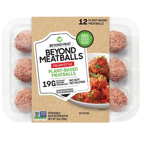 BEYOND MEAT PLANT BASED MEATBALLS ITALIAN 10oz.