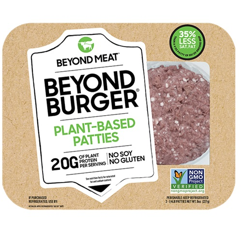 BEYOND MEAT PLANT BASED PATTIES 8oz 2pk