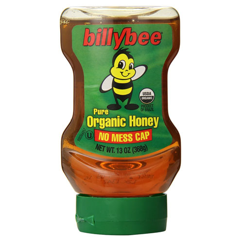 BILLY BEE ORGANIC HONEY 13oz