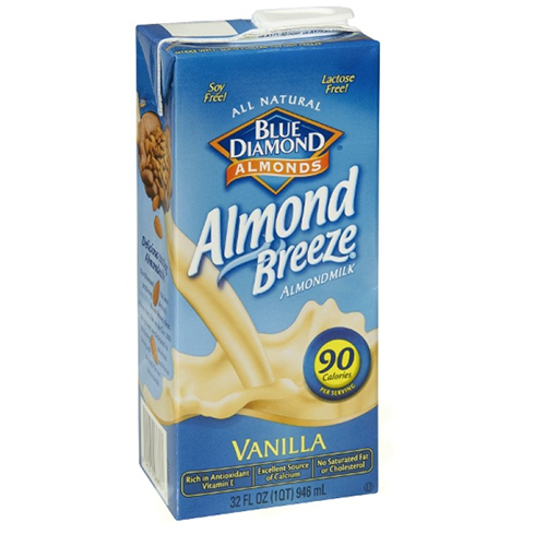 BLUE DIAMOND ALMOND BREEZE ALMONDMILK VANILLA 32oz