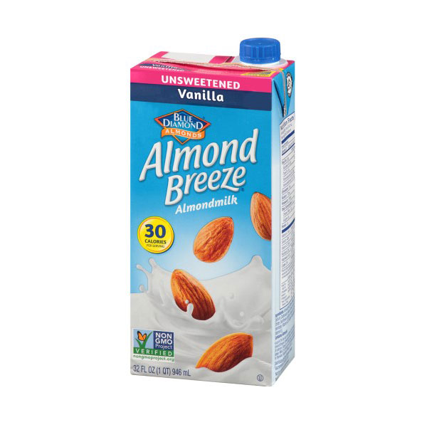 BLUE DIAMOND ALMOND MILK UNSWEETENED VANILLA 32oz