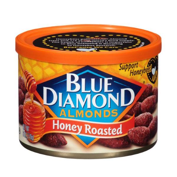 BLUE DIAMOND ALMONDS HONEY ROASTED 6oz
