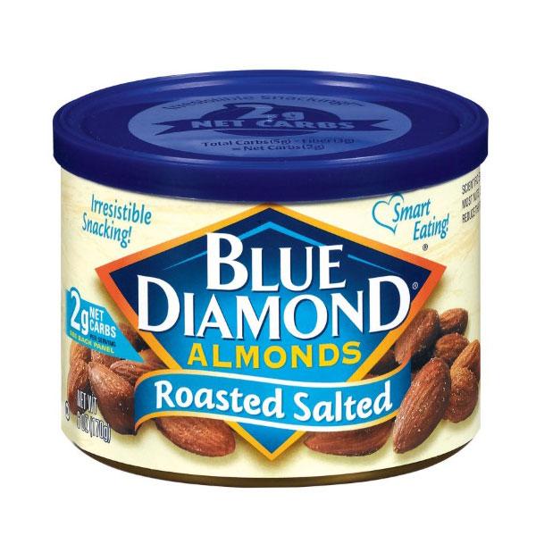BLUE DIAMOND ALMONDS ROASTED SALTED 6 OZ