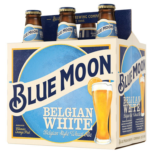 BLUE MOON BELGIAN WHITE 6pk 12oz.