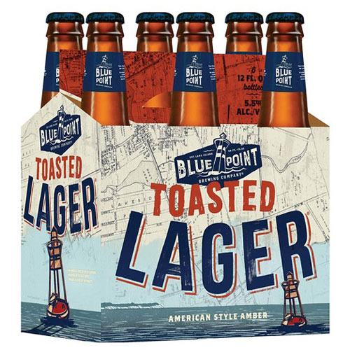 BLUE POINT TOASTED LAGER 6pk 12oz.