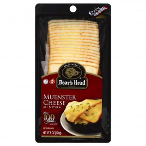BOAR'S HEAD SLICED CHEESE MUENSTER 8oz.