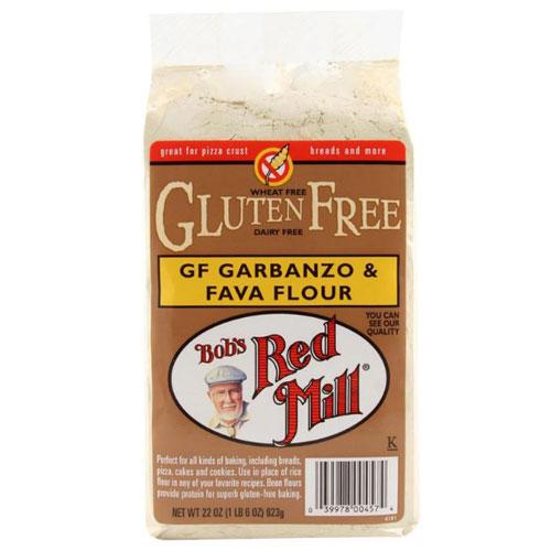 BOBS RED MILL GLUTEN FREE GARBANZO & FAVA FLOUR 22oz