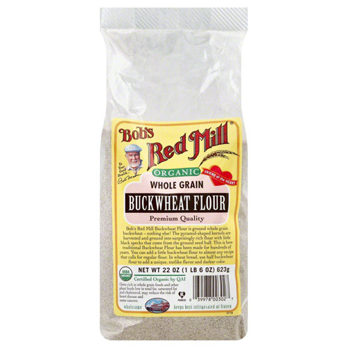 BOBS RED MILL ORGANIC BUCKWHEAT FLOUR 22oz